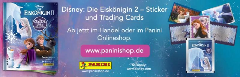 Die Eiskönigin 2 - Crystal Edition - Sticker und Cards