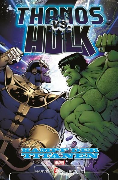 Marvel Exklusiv 117: Thanos vs. Hulk: Kampf der Titanen