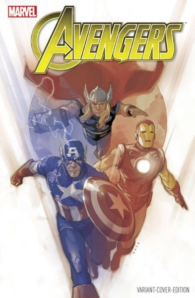 Avengers 13 (2016) Comic Con Germany Variant