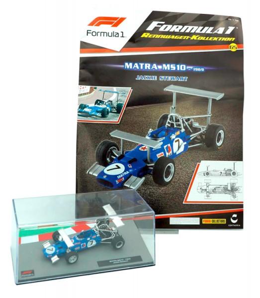 Formula 1 Rennwagen-Kollektion 65: Jackie Stewart (Matra MS10)