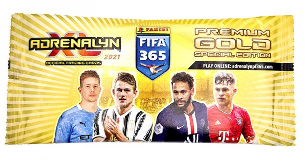 Panini FIFA 365 Adrenalyn XL 2021 Kollektion - Premium Gold Pack