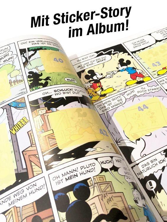 Micky Maus Sticker und Trading Cards – Mit Sticker-Story im Album