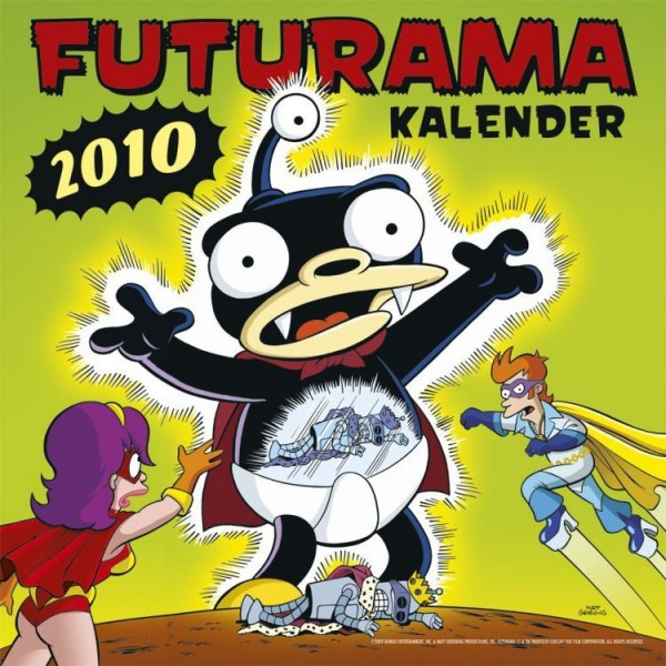 Futurama - Wandkalender (2010)