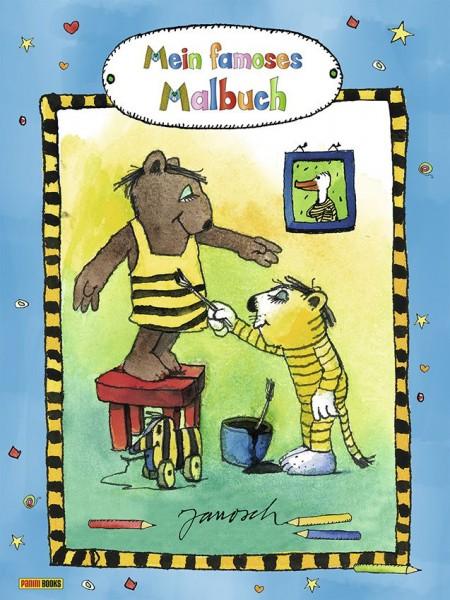 Janosch - Mein famoses Malbuch
