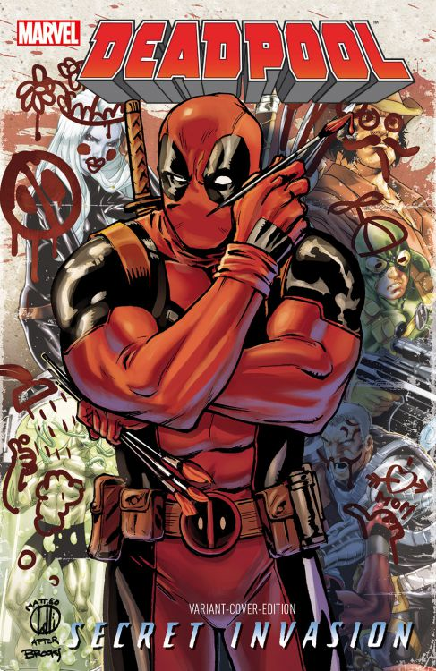 Deadpool: Secret Invasion Comic Con...