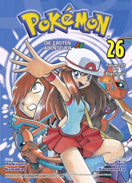 Pokémon - Die ersten Abenteuer 26: Feuerrot und Blattgrün
