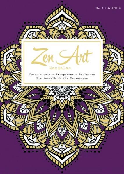 Zen Art 3: Mandalas - Ein Ausmalbuch für Erwachsene
