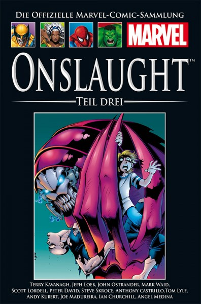 Panini  Comics  Hachette Marvel Collection 196 Onslaught, Teil III Cover