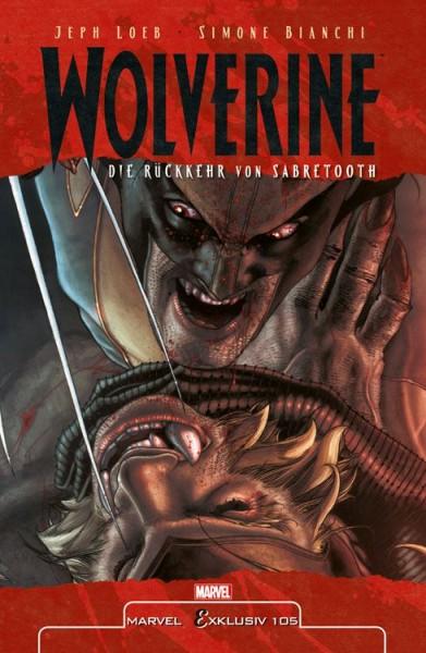 Marvel Exklusiv 105: Wolverine vs. Sabretooth Hardcover