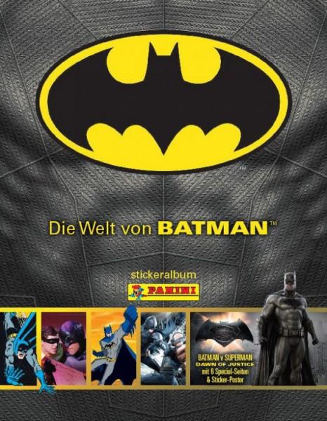 Die Welt von Batman Stickerkollektion - Album