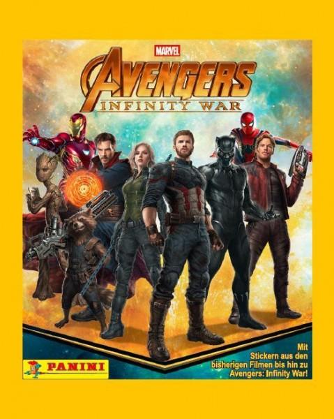 Avengers Infinity War Sticker und Trading Cards Kollektion - Tüte