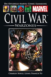 Hachette Marvel Collection 151: Civil War - Warzones