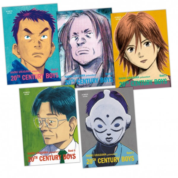 20th Century Boys: Ultimative-Bundle 1-5