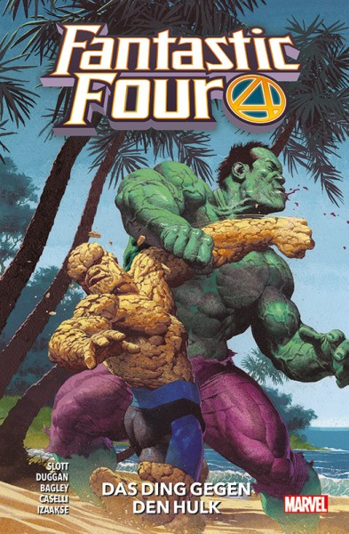 Fantastic Four 4 Cover