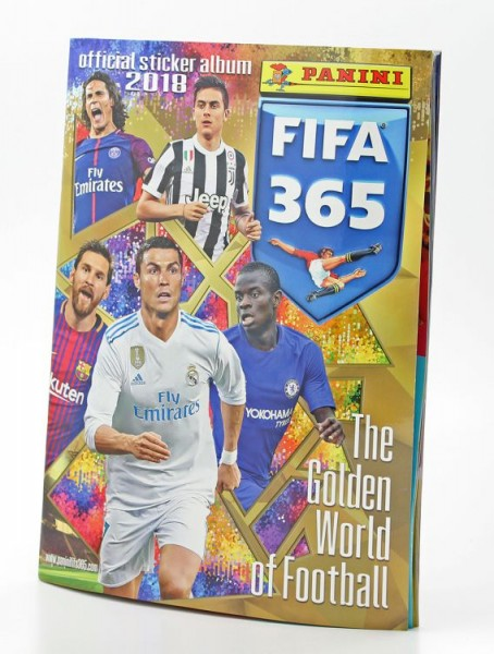 Panini FIFA 365 2018 Stickerkollektion - Album