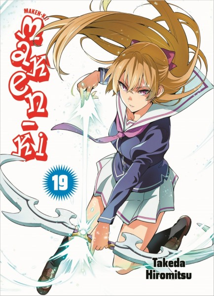 Maken-Ki 19 Cover