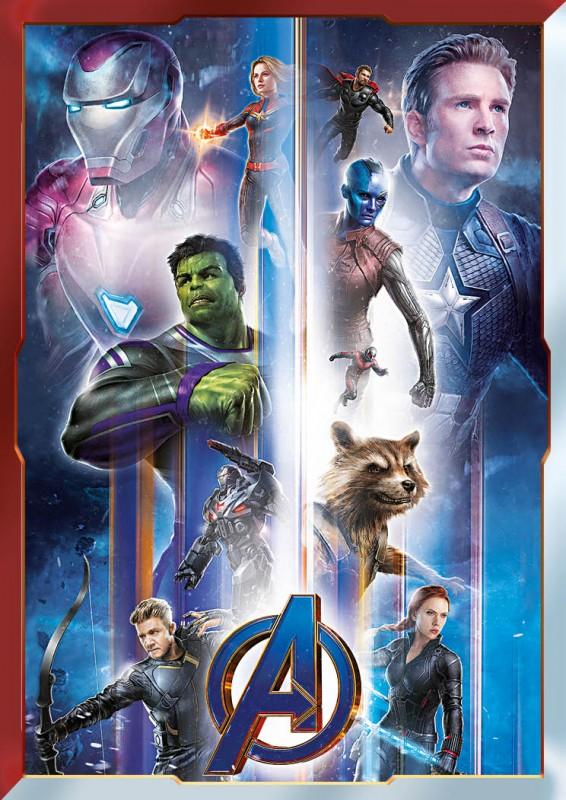Road to Avengers: Endgame Alle Avengers Card