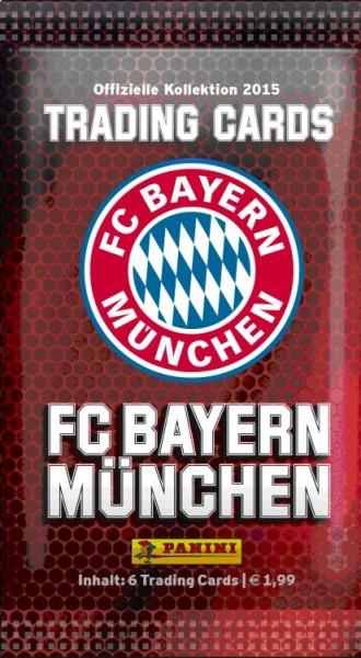 Bayern München Trading Cards Kollektion 2014/15 - Tüte