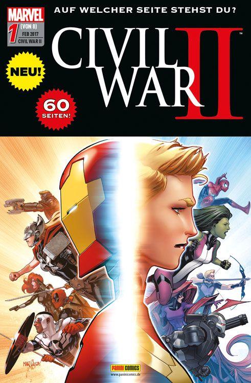 Civil War II Band 1
