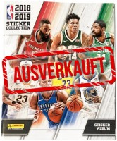 NBA 2018-2019 Stickerkollektion - Album - ausverkauft