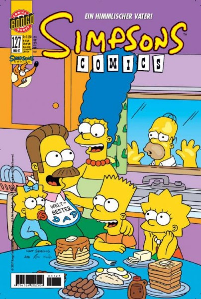 Simpsons Comics 127