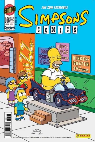 Simpsons Comics 166