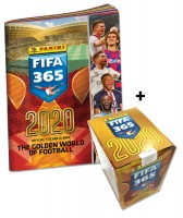 Panini FIFA 365 2020 Stickerkollektion – Sticker-Starter-Bundle