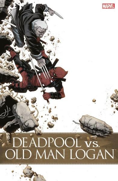Deadpool vs. Old Man Logan Comic Con Stuttgart Variant