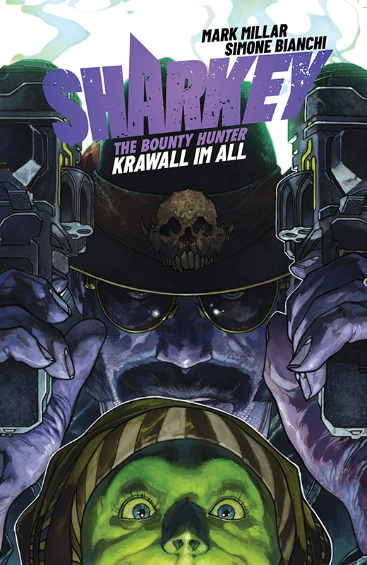 Sharkey the Bounty Hunter: Krawall im All