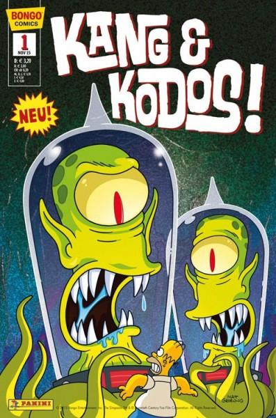 Simpsons Comics präsentiert - Kang & Kodos 1