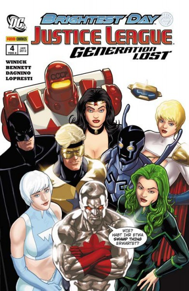 Justice League: Generation Lost 4