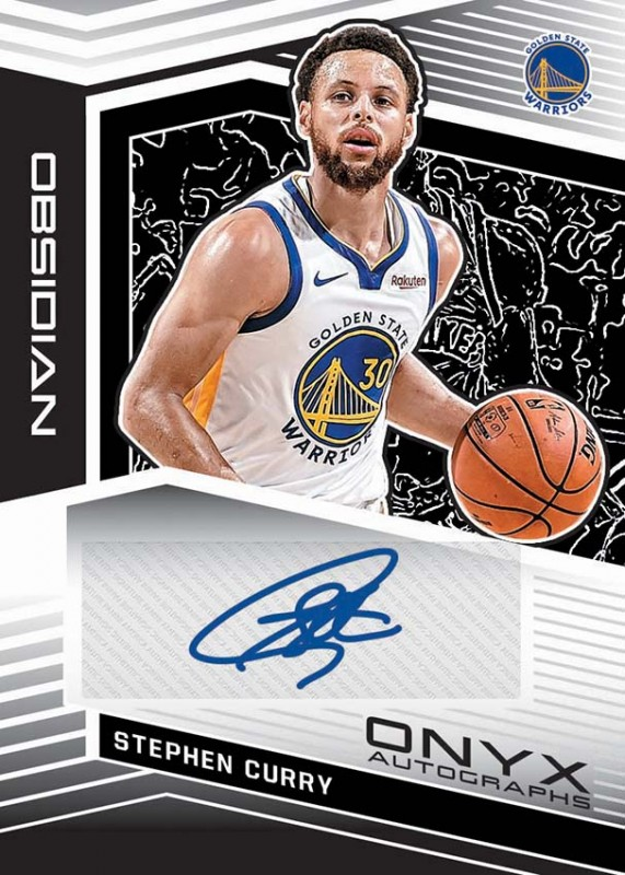 NBA Obsidian 2019/20 Trading Cards - Stephen Curry