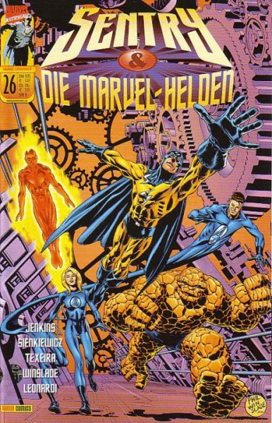Marvel Crossover 26: Sentry/Die Marvel-Helden