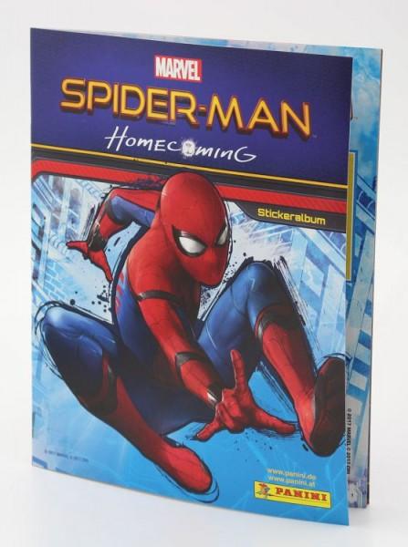 Spider-Man Homecoming Stickerkollektion - Album