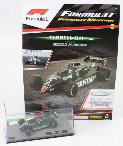 Formula 1 Rennwagen-Kollektion 46: Michele Alboreto (Tyrrell 011)