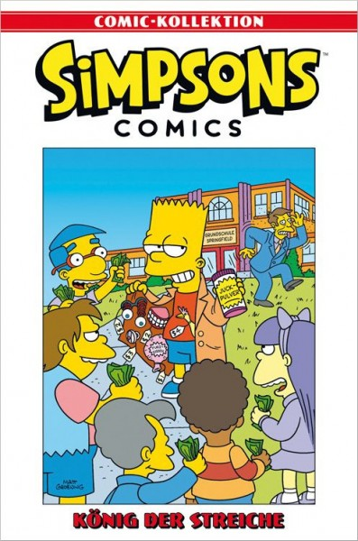 Simpsons Comic-Kollektion 7: König der Streiche Cover