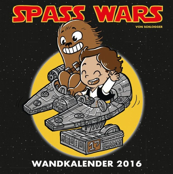Star Wars: Spass Wars - Wandkalender (2016)