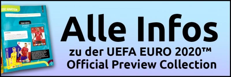 Banner Infoseite - Alle Infos zu den UEFA Euro 2020 Adrenalyn XL Trading Cards