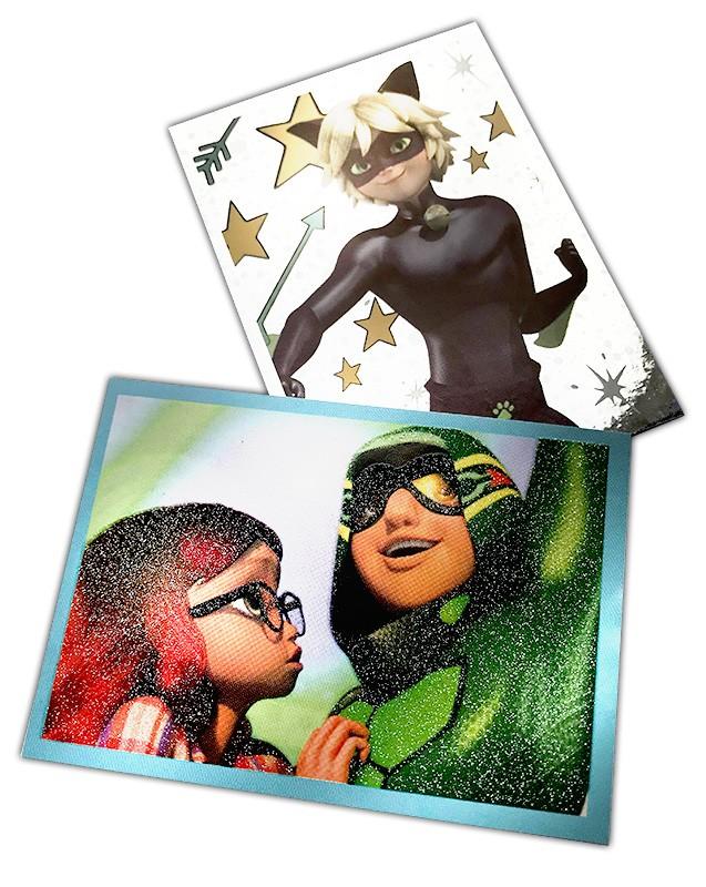 Miraculous Sticker und Trading Cards Sondersticker Beispiel