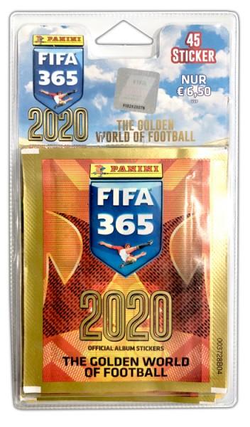 Panini FIFA 365 2020 Stickerkollektion – Blister