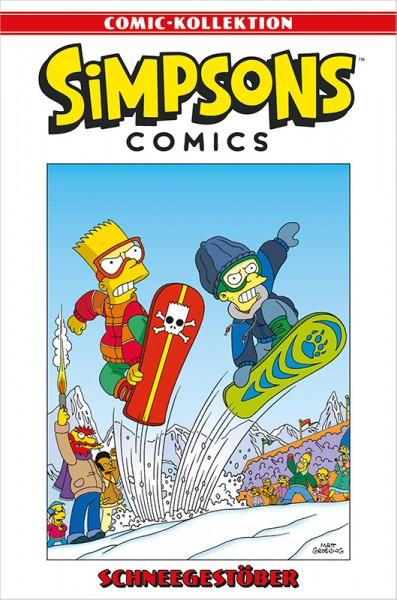 Simpsons Comic-Kollektion 72: Schneegestöber Cover