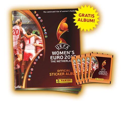 UEFA Women's Euro 2017 Stickerkollektion zur Fußball Europameisterschaft der Frauen - Bundle 3