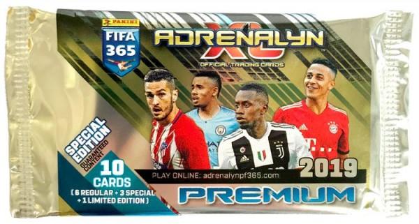 Panini FIFA 365 Adrenalyn XL 2019 Kollektion – Premium-Tüte