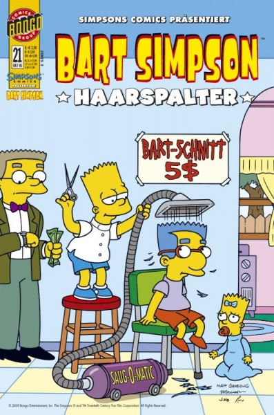 Bart Simpson Comics 21