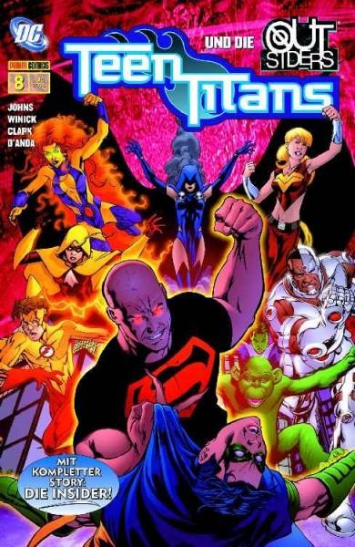 Teen Titans Sonderband 8: Die Insider