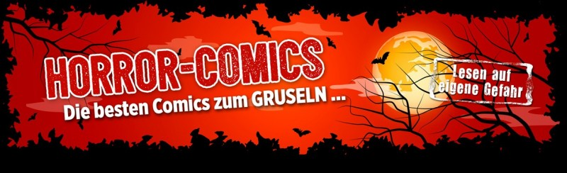 Horror-Comics – Die besten Comics zum Gruseln