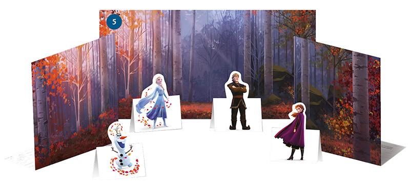 Disney: Die Eiskönigin 2 - Cristal Edition - Sticker und Cards - Figurentheater zum Heraustrennen
