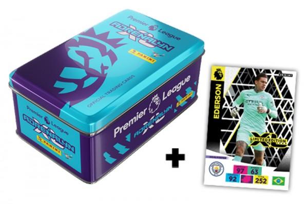 Panini Premier League Adrenalyn XL 2020/21 Kollektion – Tin-Box - Blau