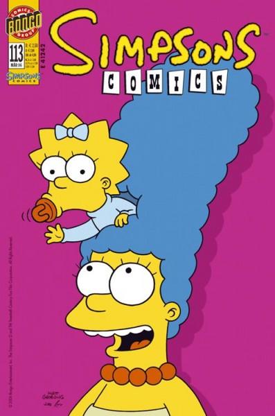 Simpsons Comics 113