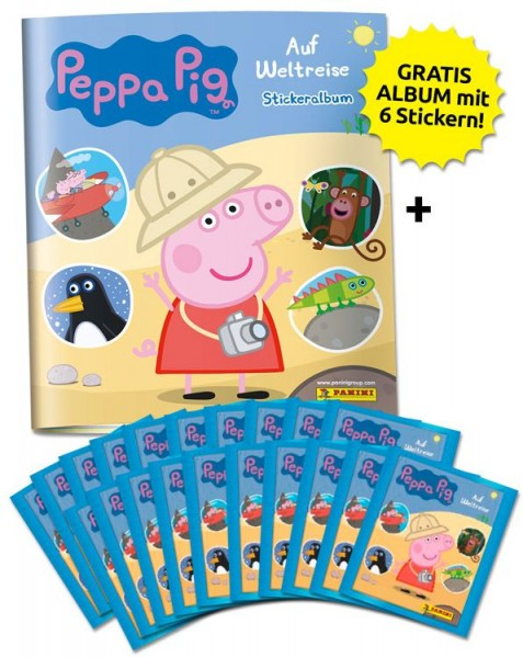 Peppa Pig Stickerkollektion - Sammelbundle
